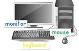 Label Computer Parts