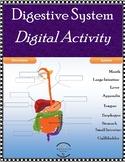 Label Digestive System - Digital Activity - Google Classroom, Canvas