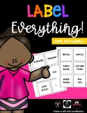 Label Everything!™ Over 300 Classroom Labels!