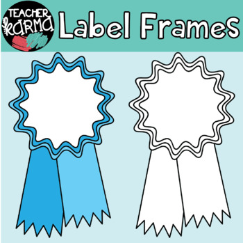 Label Frames Clipart (FREE today)