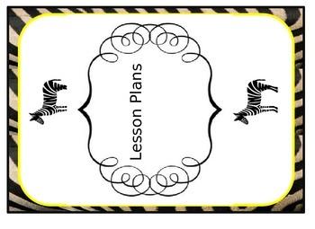 Labels Fun Classroom Zebra Labels