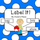 LABEL IT!   Updated & Freebie in Preview!