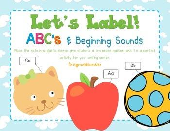 Label It! ABC & Beginning Sounds