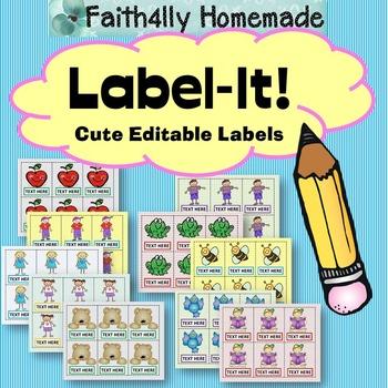 Label-It (Editable Labels)