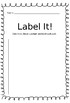 Label It! Daily 5 Center