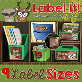 Editable Labels   Woodland Classroom Decor