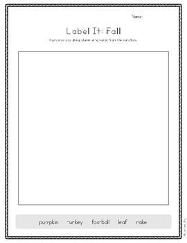 Label It: Fall