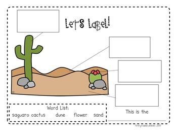 Label It! Landforms, Habitats, and Seasons