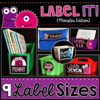 Label It! {Monsters Edition}