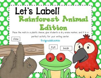Label It! Rainforest Edition