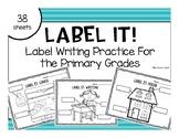 Label It!: Writing