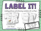 Label It and Write About it! {April}