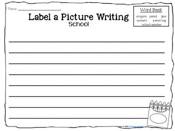 Label It and Write About it! {August} #WildWednesday