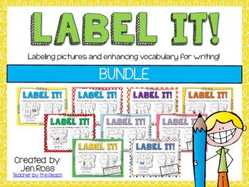 Label It and Write About it! {BUNDLE}