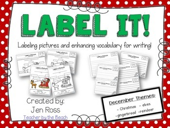 Label It and Write About it! {December}