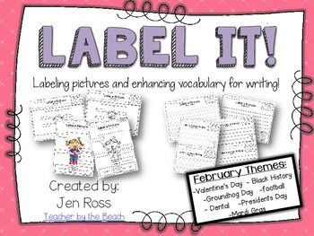 Label It and Write About it! {February}