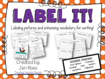 Label It and Write About it! {October}