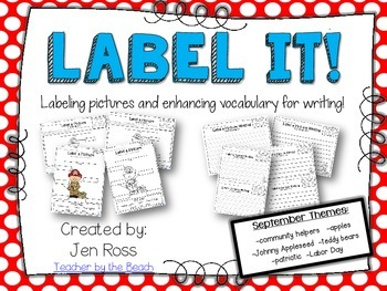 Label It and Write About it! {September}