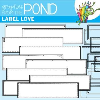 Label Love {Detail Edged Header Labels}