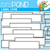 Label Love {Detail Edged Header Labels}
