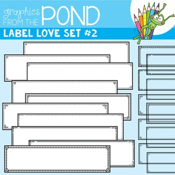 Label Love Set #2 {Detail Edged Header Labels}