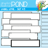 Label Love Set #3 {Detail Edged Header Labels}