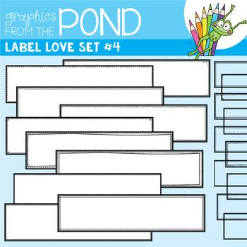Label Love Set #4 {Detail Edged Header Labels}