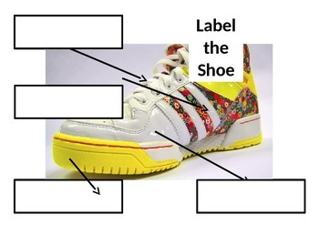 Label Materials on your shoe