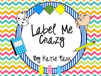 Label Me Crazy {Bright Chevron}