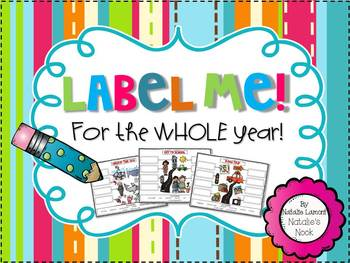 Label Me! {For The Entire Year}