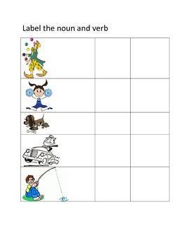 Label Noun and Verb
