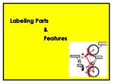 Label Parts or Features of Objects