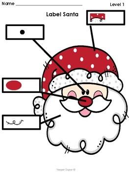Label Santa