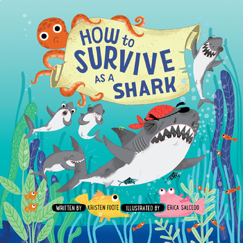 Label Shark Parts Digital Task Cards Inspired by How to Survive as a Shark
