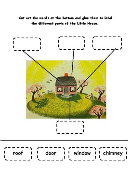 Label The Little House