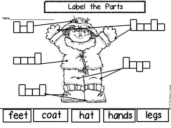 Label The Parts (Fall)
