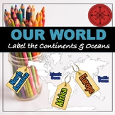 "Continents and Oceans ""Labeling"""