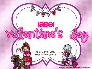 Label Valentine's Day