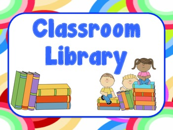 Label Your Classroom Library: Level A to Z Labels