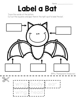 Label a Bat FREEBIE