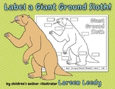Label a Giant Ground Sloth! (diagram)