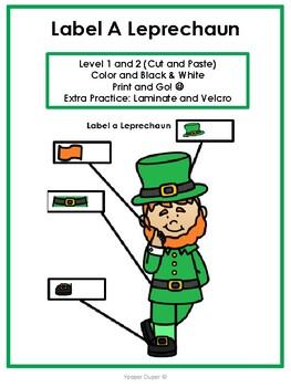 Label a Leprechaun