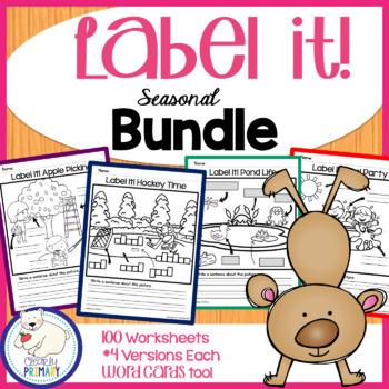 Label a Picture - Seasonal Bundle