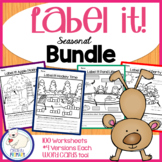 Label a Picture - Seasonal Bundle
