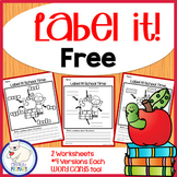 Label a Picture - Back to School
