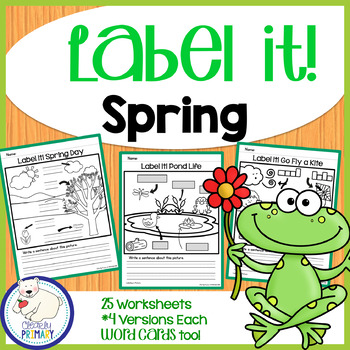 Label a Picture - Spring