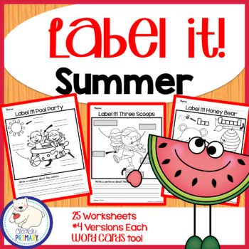 Label a Picture - Summer