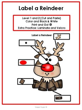 Label a Reindeer