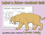 Label a Saber-toothed Cat!