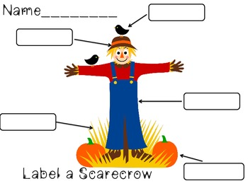 Label a Scarecrow